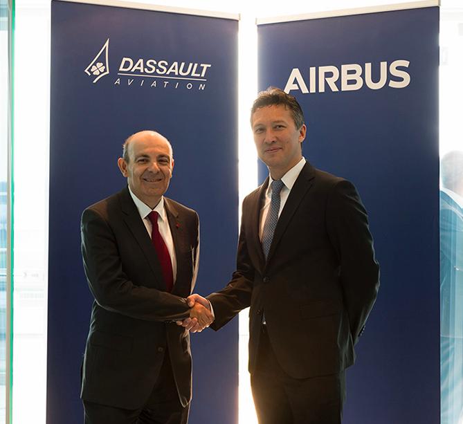 Berlin ILA 2018 : Un accord entre Dassault et Airbus sur le SCAF