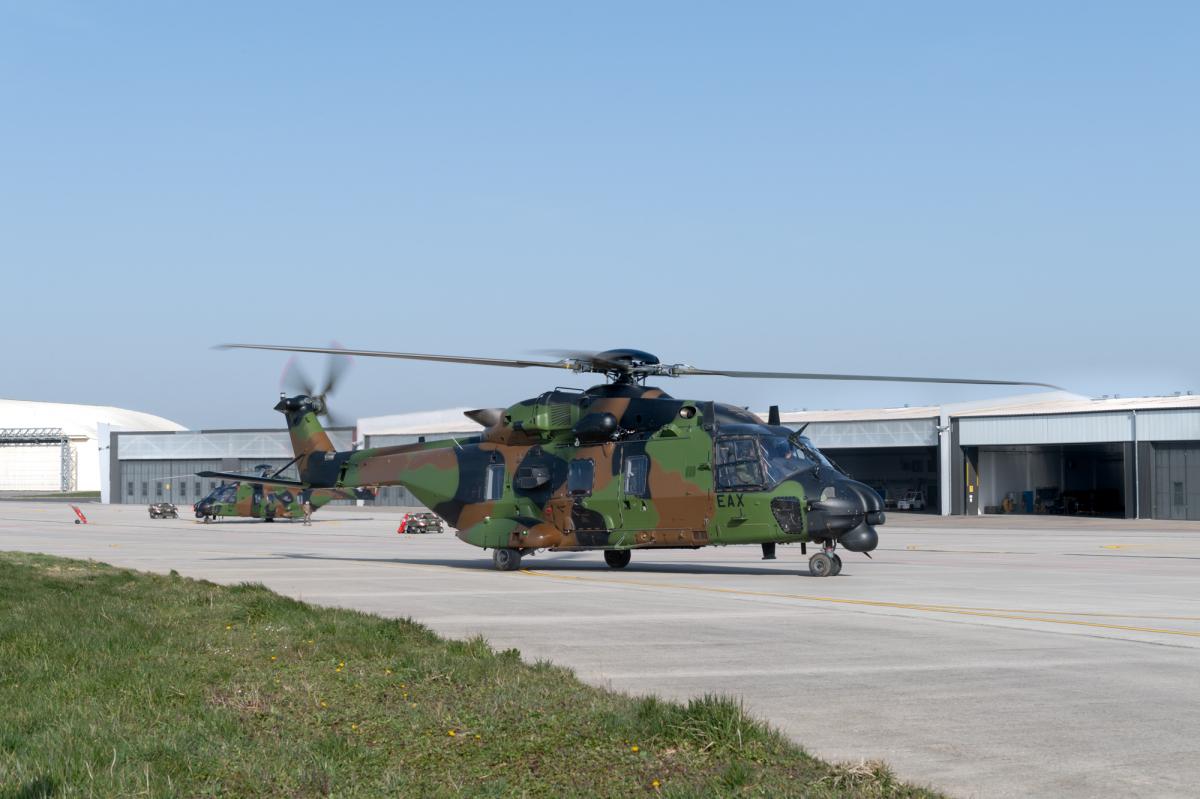 VIDEO. Préparation du NH90