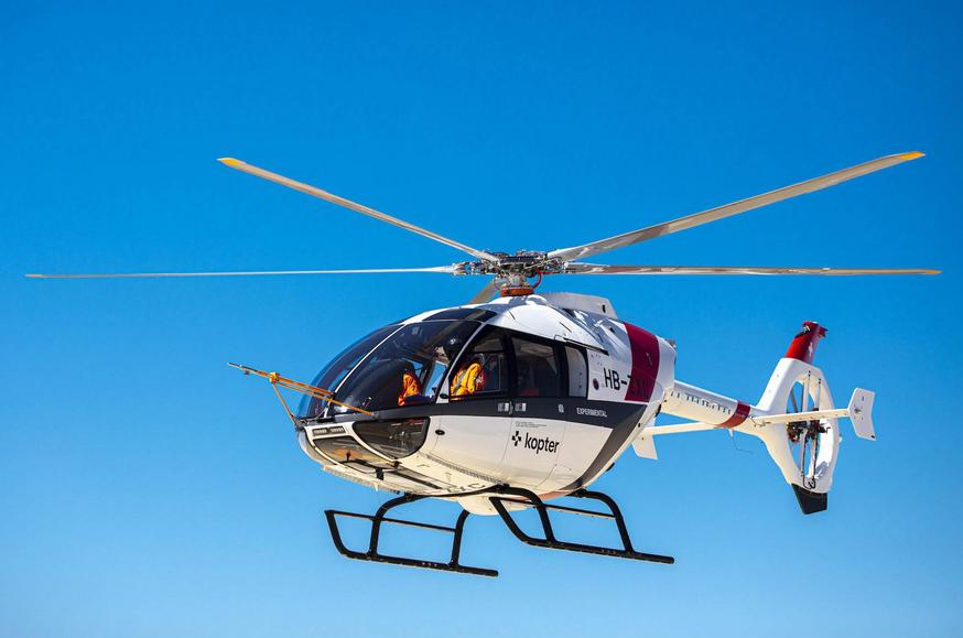 Le programme d'essais en vol du SH09 de Kopter avance