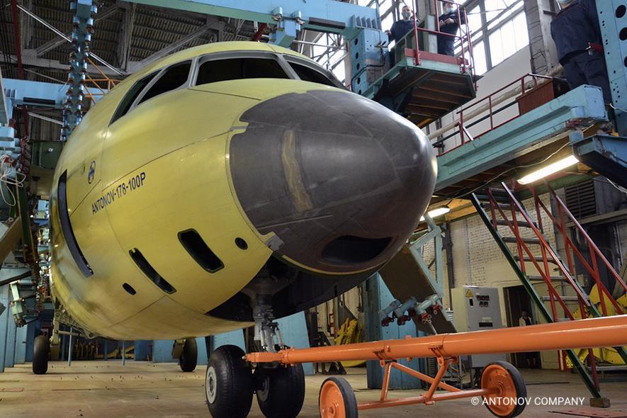 Antonov a débuté l'assemblage du premier An-178 de série