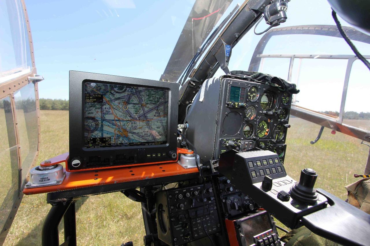 Sitalat : les hélicoptères de l'ALAT connectés