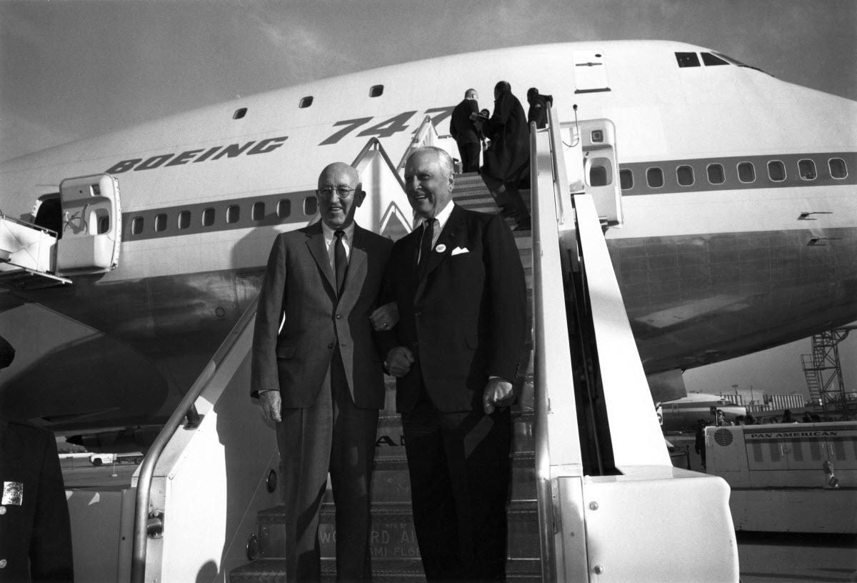 """100 ans de Boeing :  le 747 alias """"Jumbo Jet"""""""