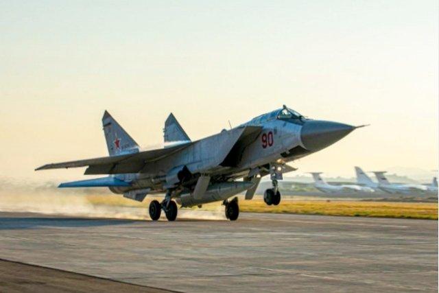 Syrie: Déploiement des Mig-31 Russes