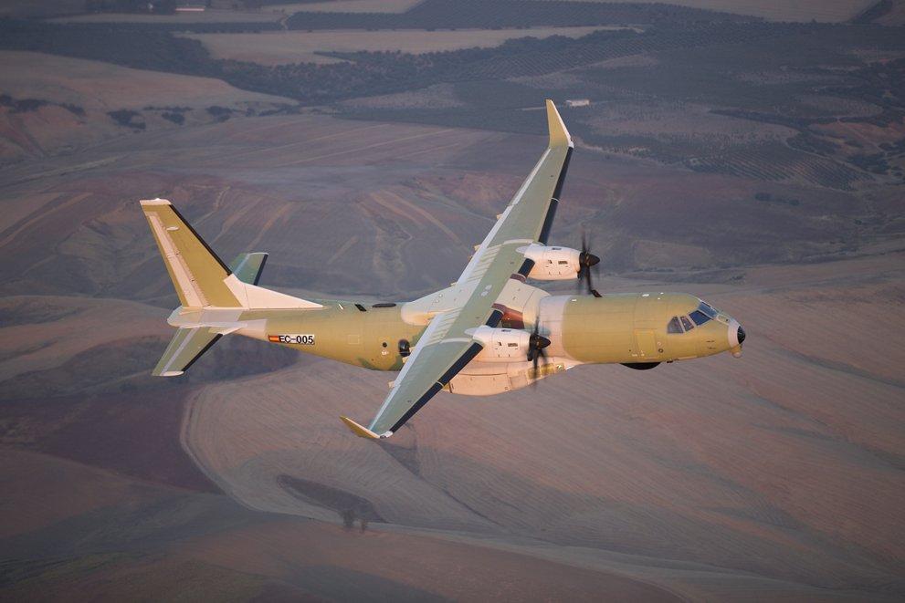 Premier vol d'un C295 canadien