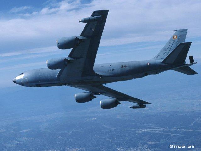 C-135FR : Incident de vol en Méditerranée