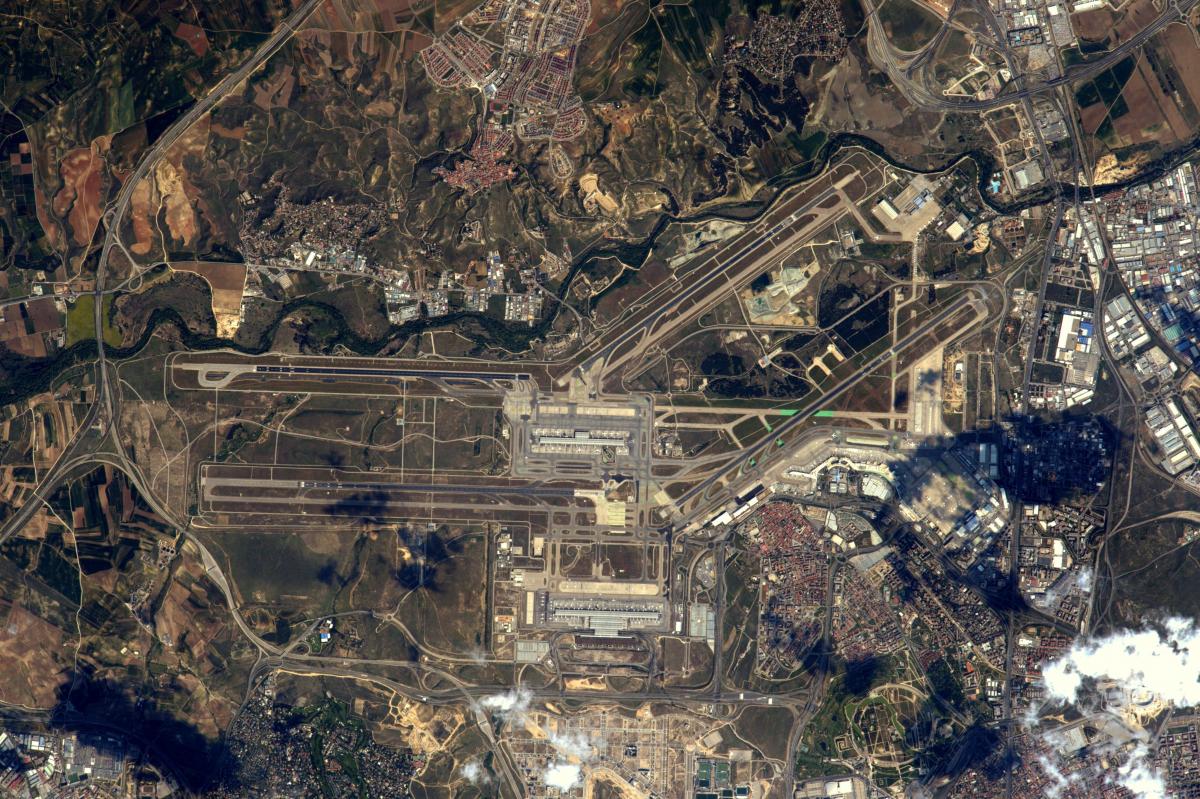 La Terre dans l'oeil de Thomas Pesquet, saison 2 : l'aéroport Adolfo-Suárez de Madrid-Barajas