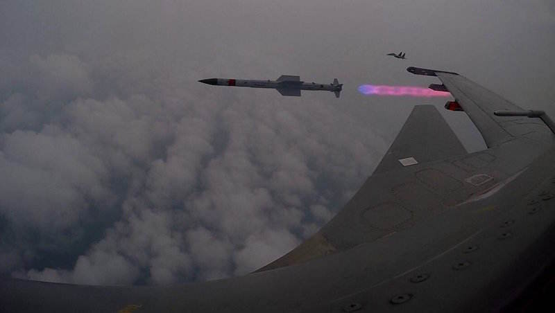 India competes Astra missile development