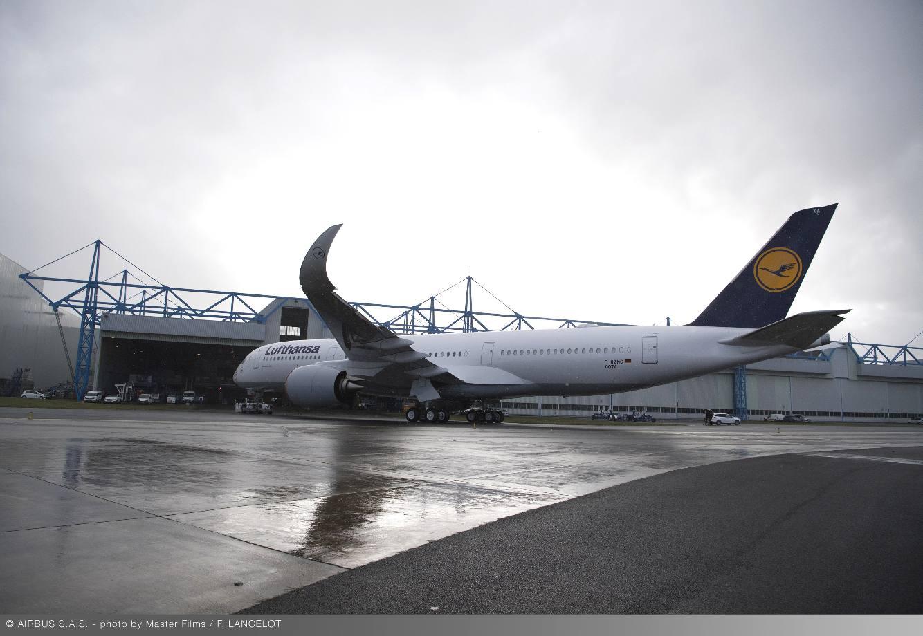 Lufthansa logera ses dix premiers Airbus A350-900 à Munich