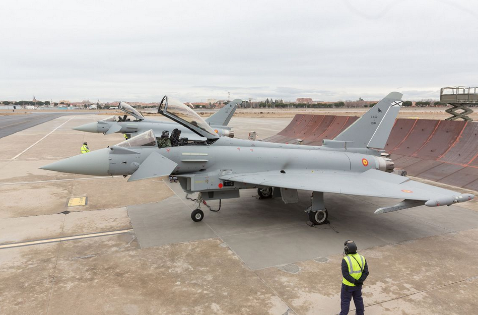 Espagne : Premiers Typhoon P1Eb FW livrés