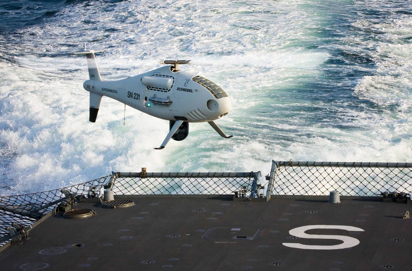 Des Camcopter pour la marine australienne