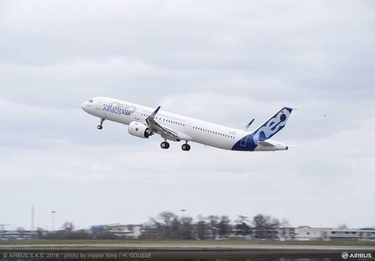 Certification de type pour l'A321neo équipé de moteurs P&W