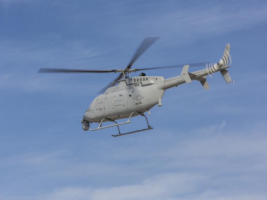 Un vol record pour le drone Fire Scout