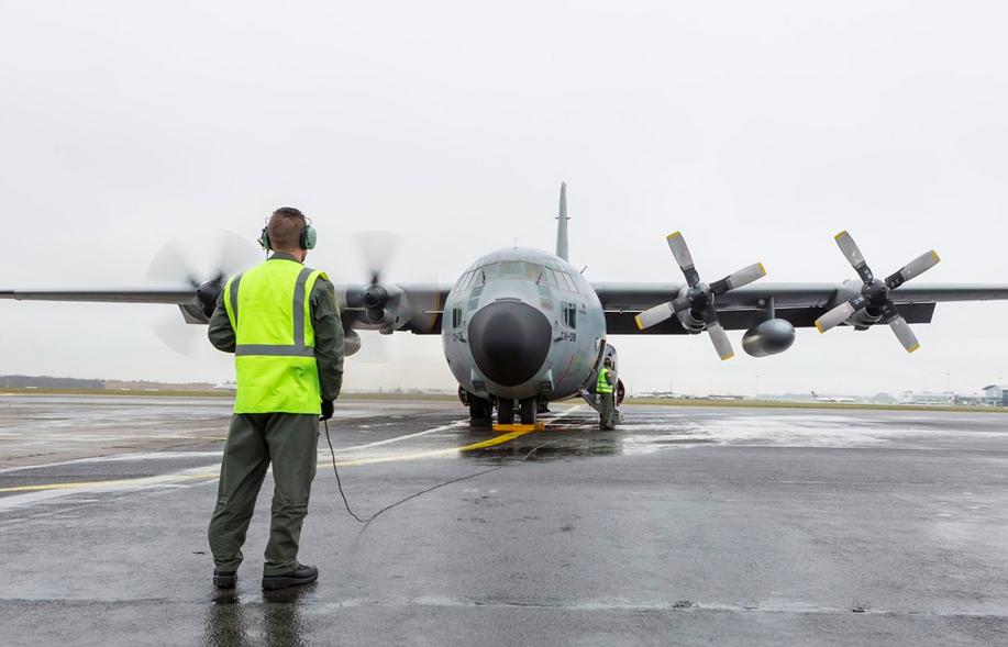 Belgique : Retrait du service d'un premier C-130H