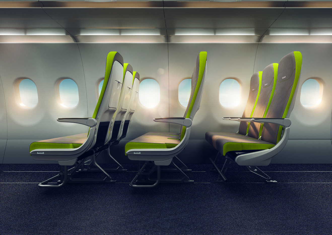Aircraft Interiors 2017 : Recaro et Airbus présentent le Flex Seat
