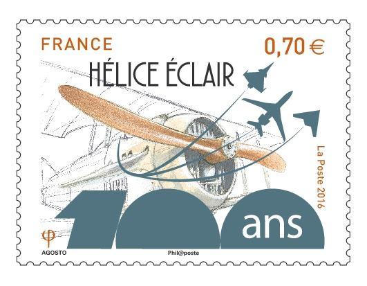 Un timbre pour les 100 ans de Dassault Aviation