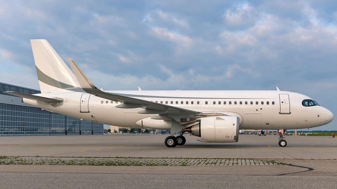 Un ACJ319neo de K5-Aviation à la NBAA