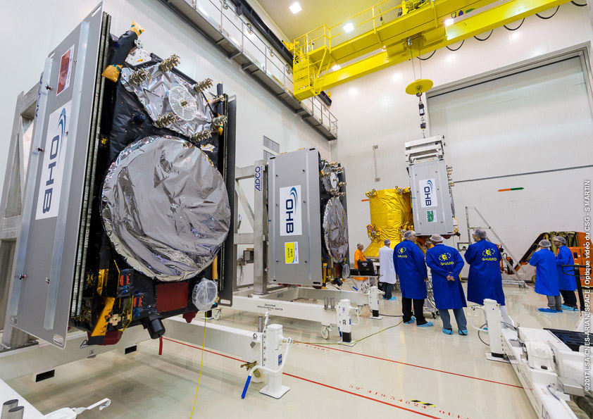 Four more Galileo satellites set for launch