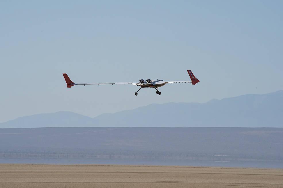 Crash du drone expérimental X-56B