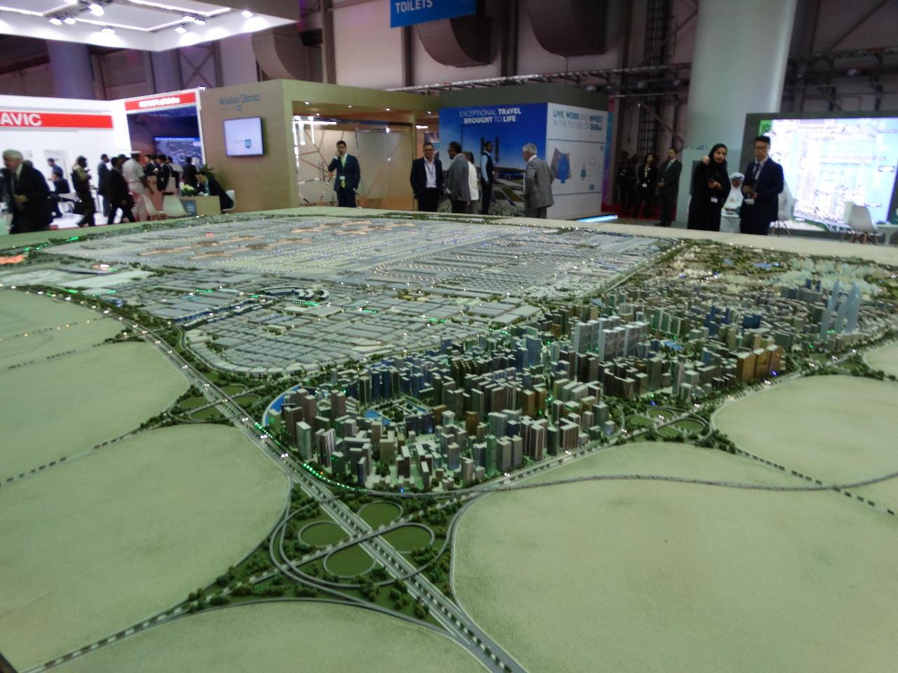Dubai Airshow 2017 : Dubai South dévoile son projet pharaonique.