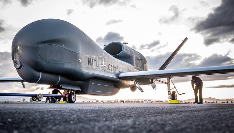 L'OTAN accueille son premier RQ-4D