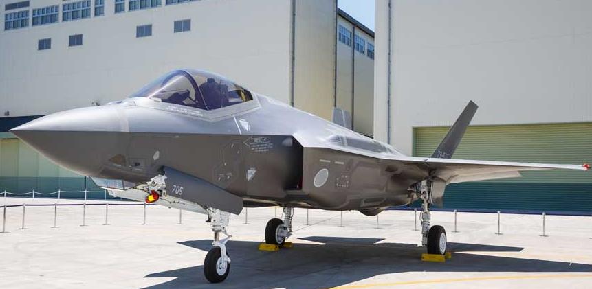 Sortie d'usine du premier F-35 assemblé au Japon