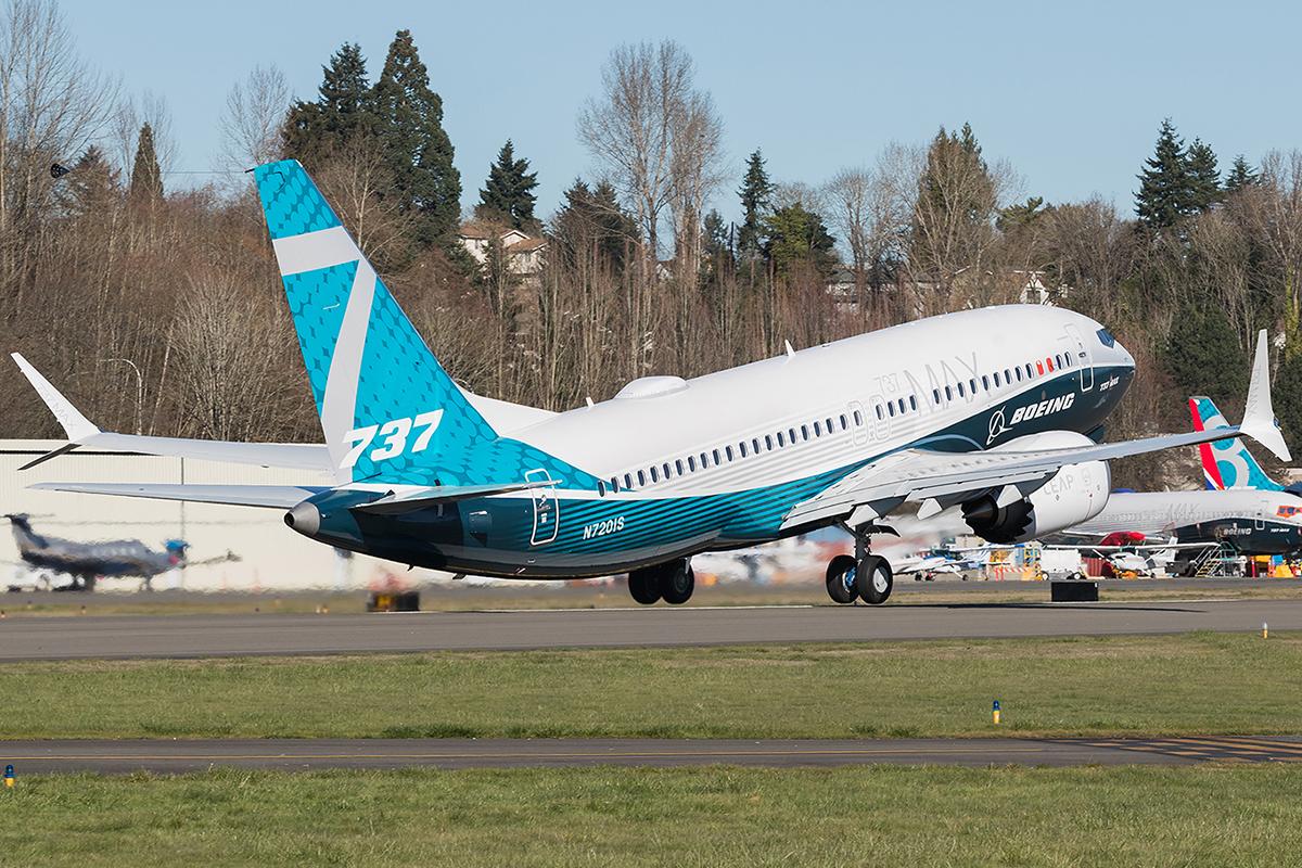 Le Boeing 737 MAX part aux essais en Chine