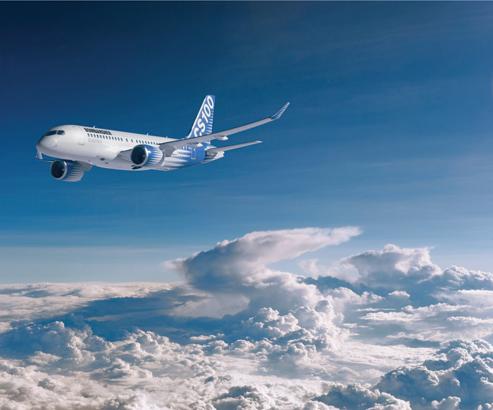 Delta Air Lines prendrait jusqu'à 125 Bombardier CSeries