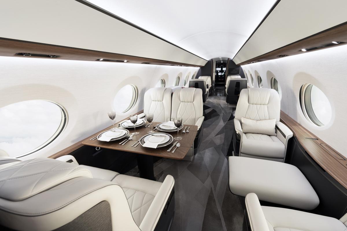 Gulfstream abaisse l'altitude cabine de son G700