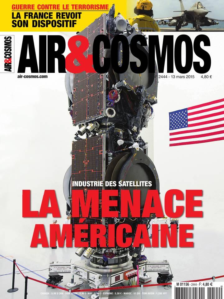 SatCom, Bombardier CSeries, dispositif français en Afrique-Moyen-Orient, dans Air&Cosmos 2444 du 13 mars 2015