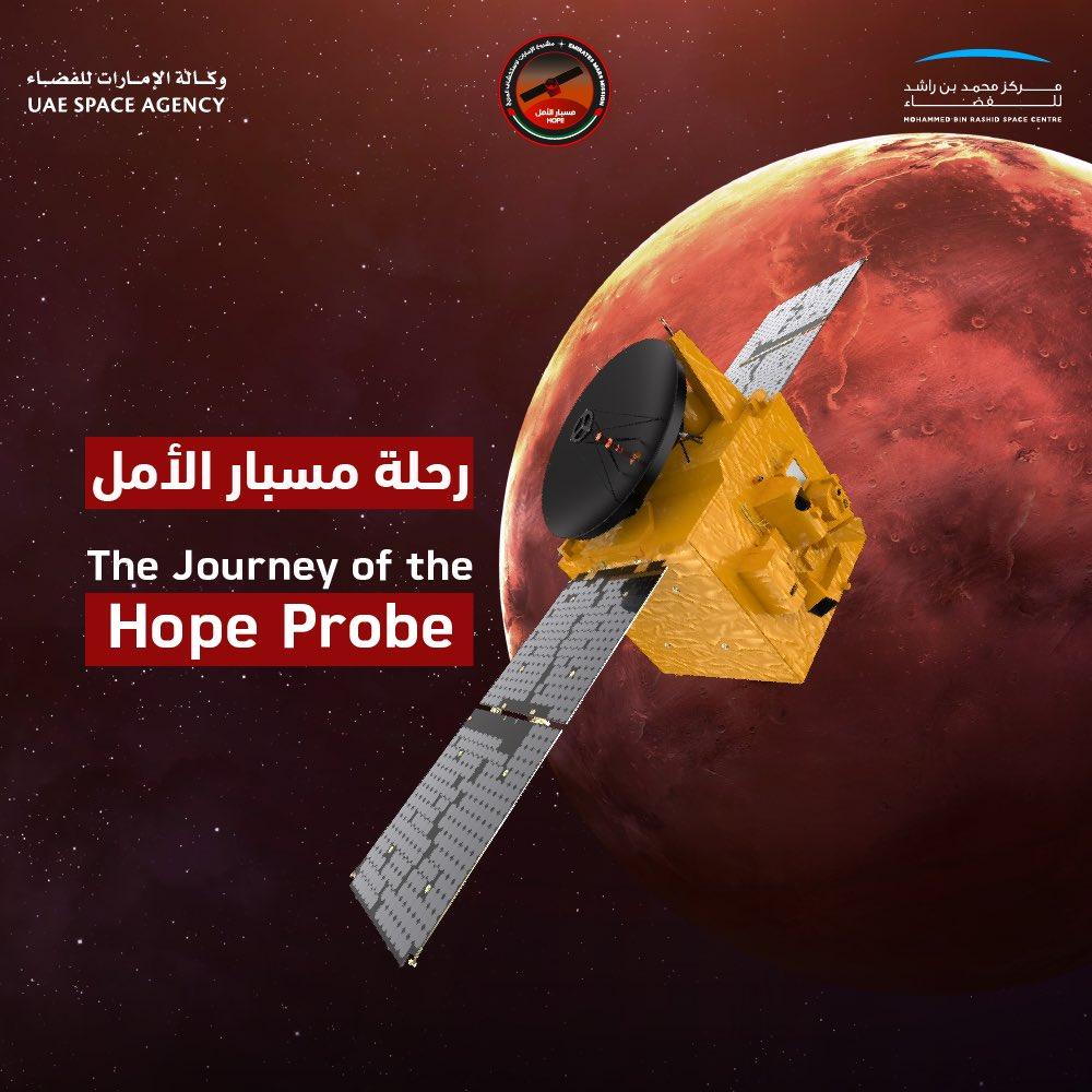 J-1 pour la sonde émirienne Al-Amal