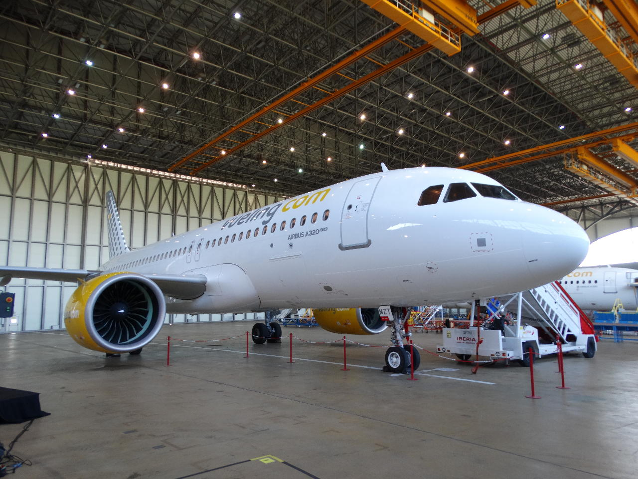Vueling reçoit son premier A320neo