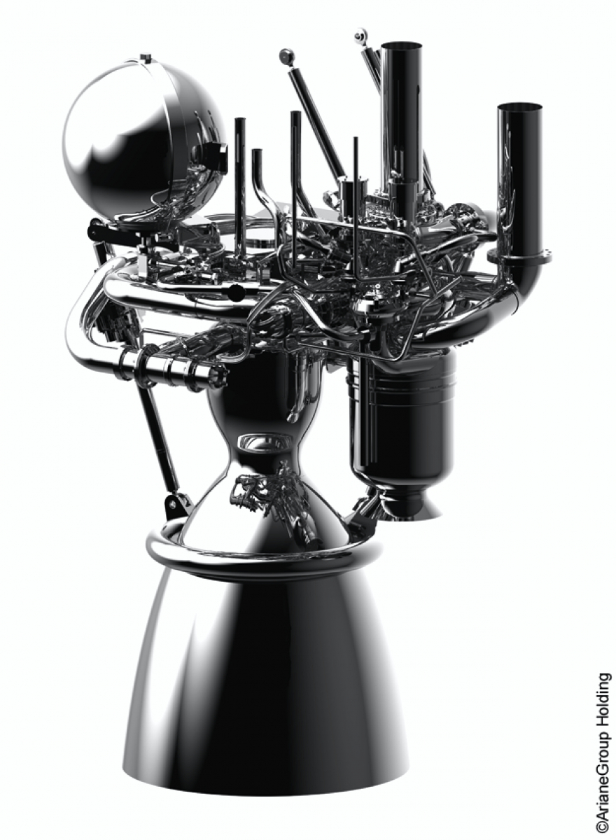 Le moteur-fusée du futur européen évolue