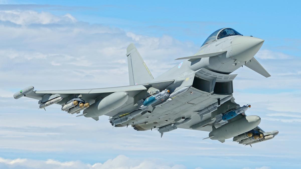 Royal Air Force: Début du retrait de 24 Typhoon