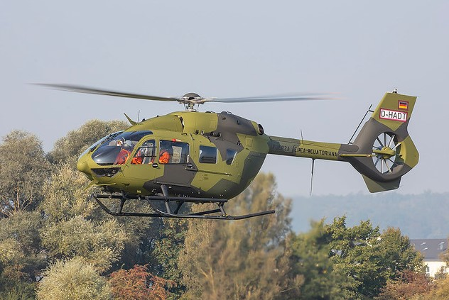 Les trois derniers H145M livrés à l'armée de l'air équatorienne