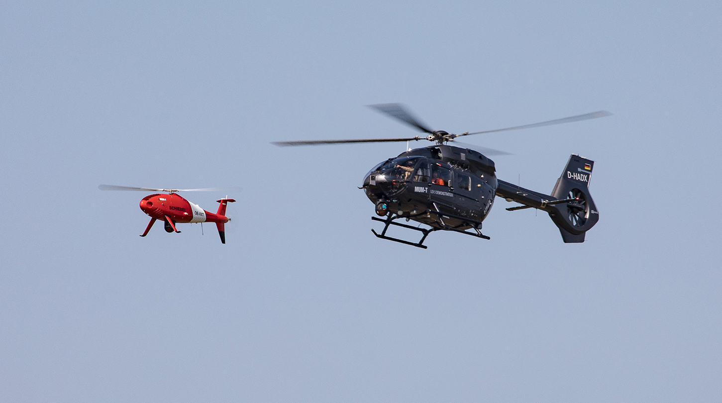 Airbus Helicopters fait collaborer drones et hélicoptères