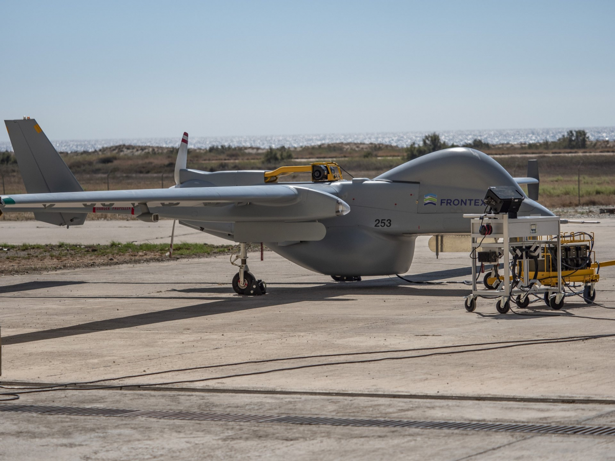 Le Heron 1 de FRONTEX s'installe à Malte