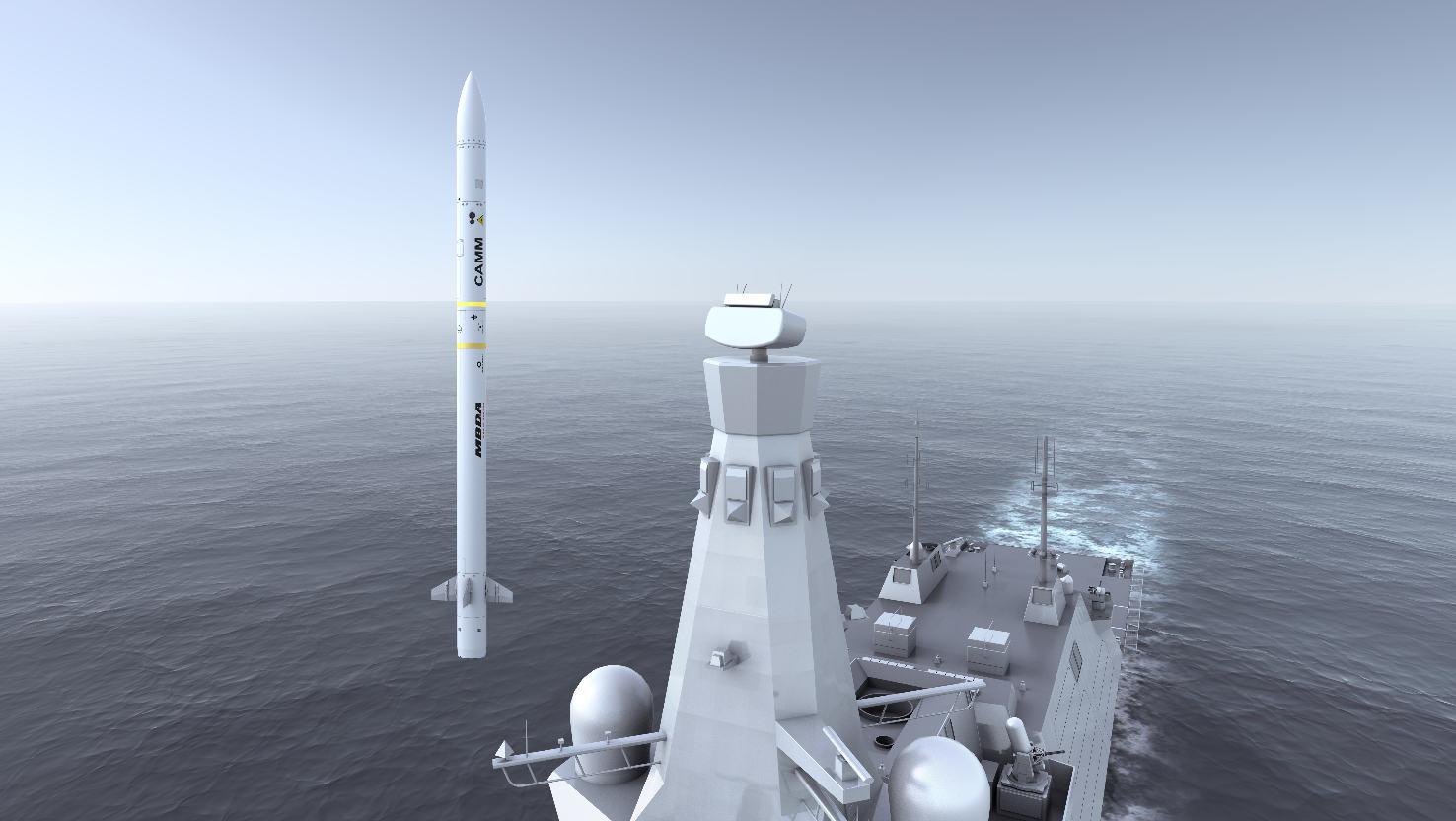 MBDA : lancement de la phase de démonstration et de production du Sea Ceptor
