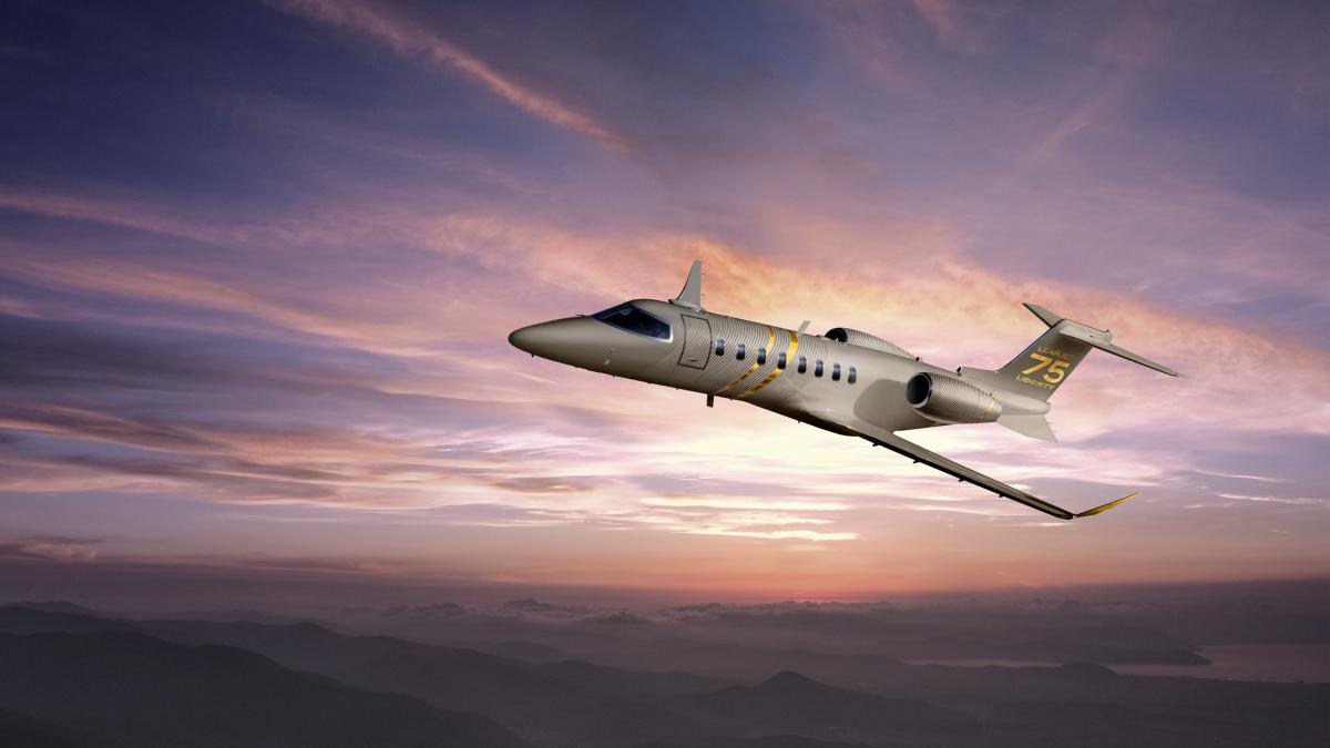 Le Bombardier Learjet 75 Liberty entre en service