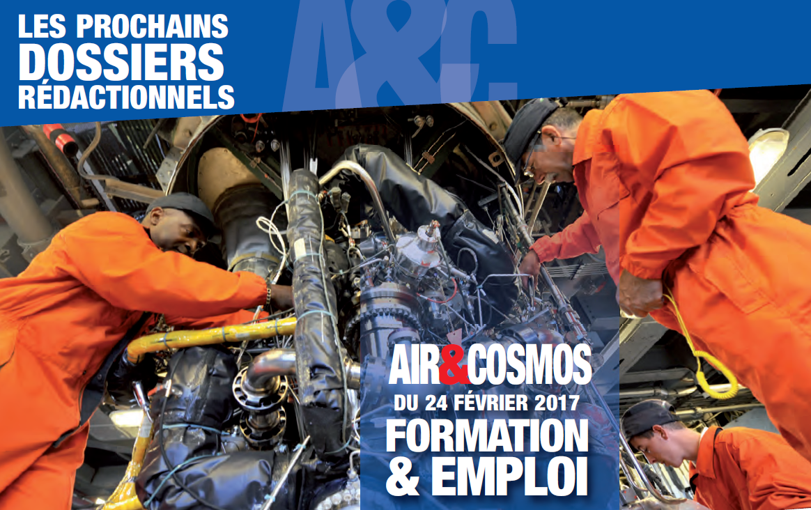 Dossier Formation & Emploi en aéronautique le 24 février.