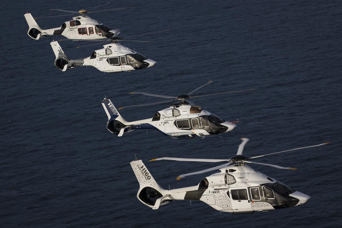 Seize Airbus H160 et Dauphin pour la Marine nationale
