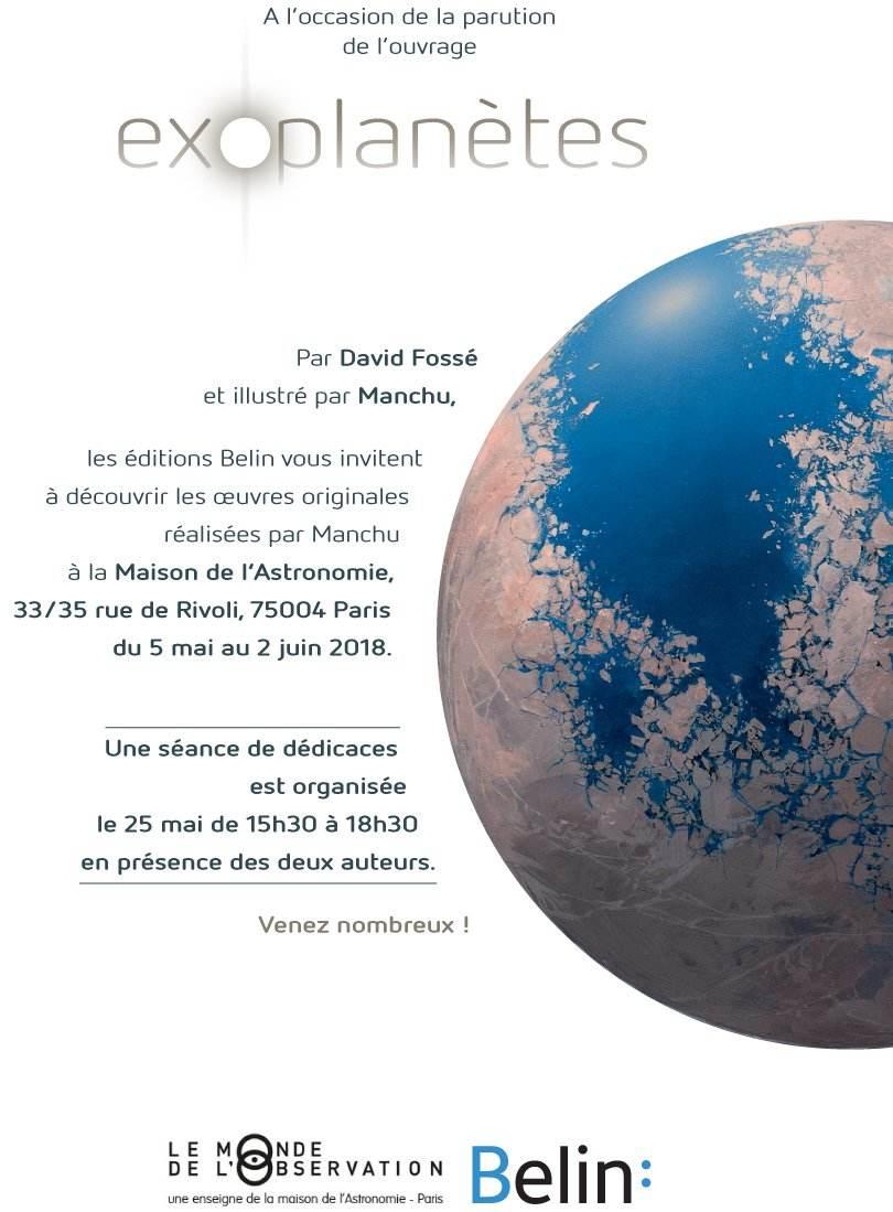 """""""Exoplanètes"""" s'expose à la Maison de l'Astronomie"""