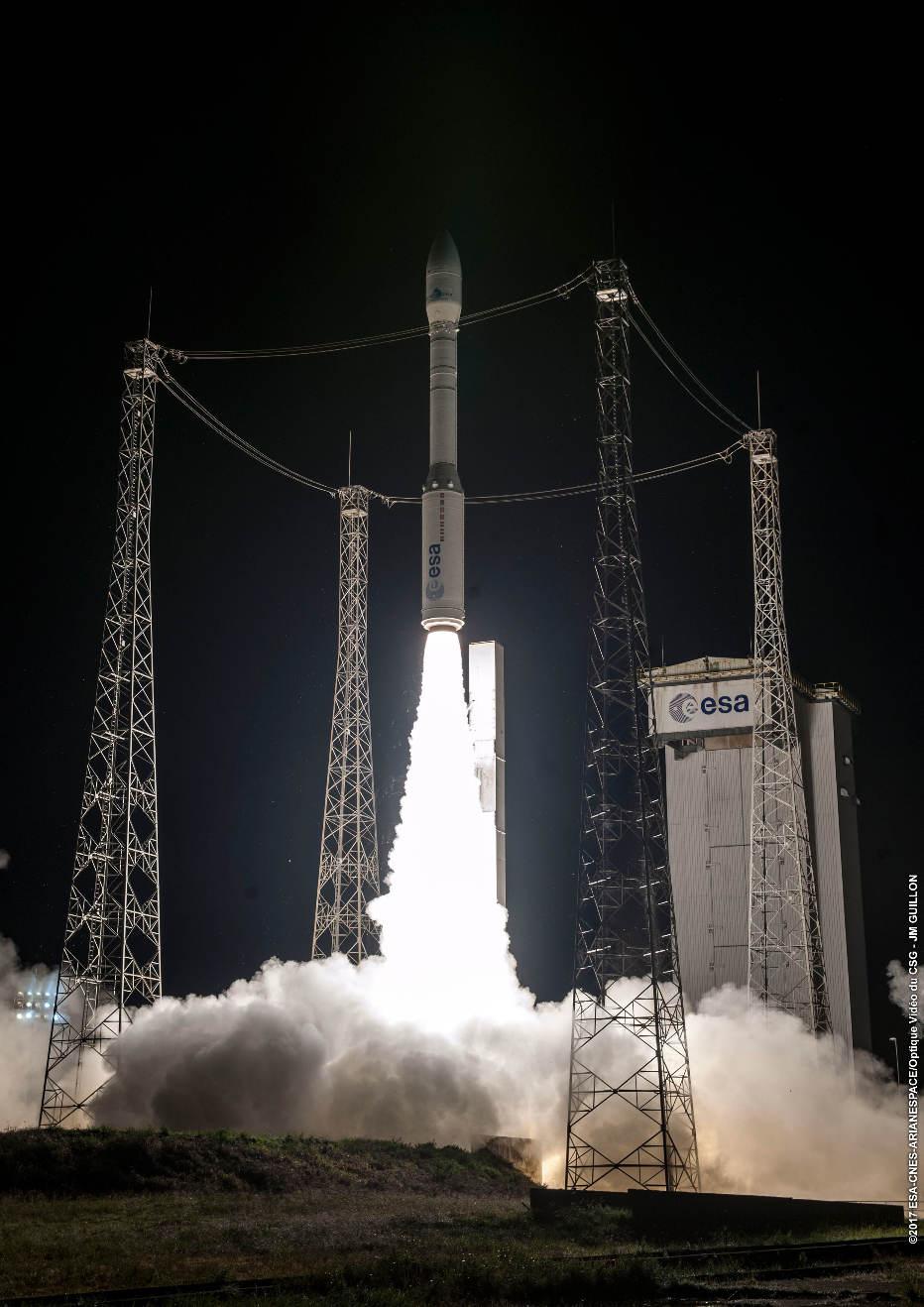 Vega orbits Mohammed VI-A satellite