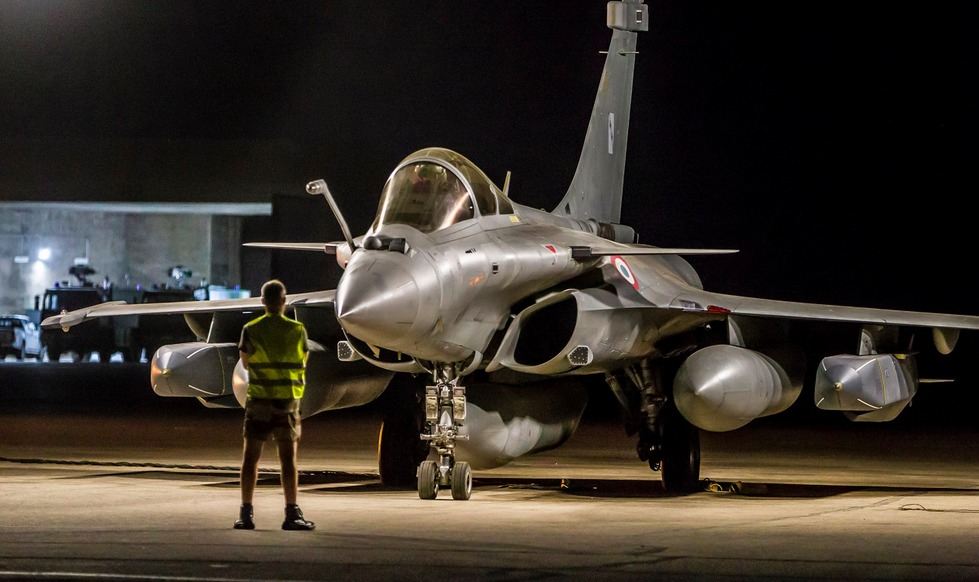 Opérations Chammal: 4 années d'engagement du Dassault Rafale