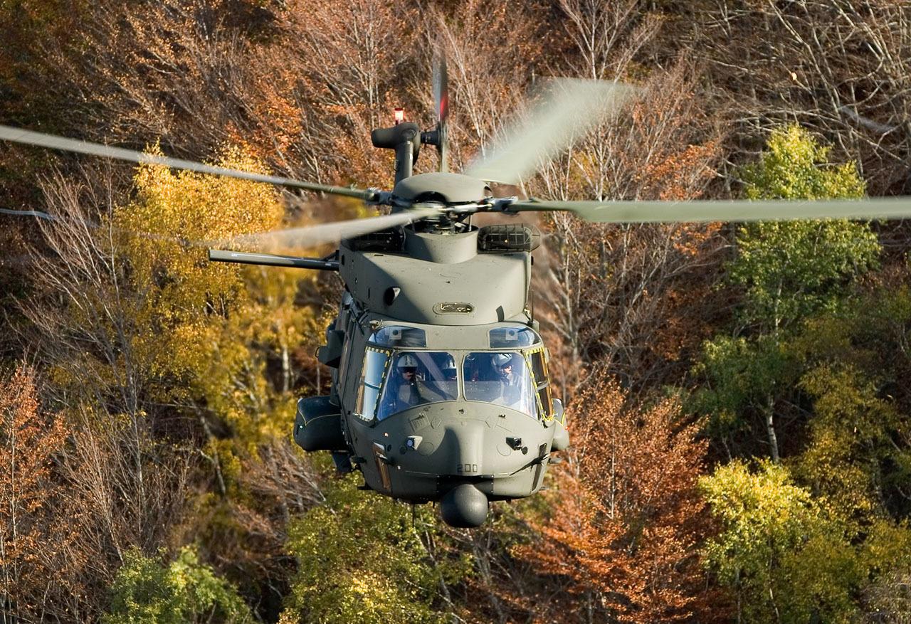 L'Italie développe une version hybride du NH90