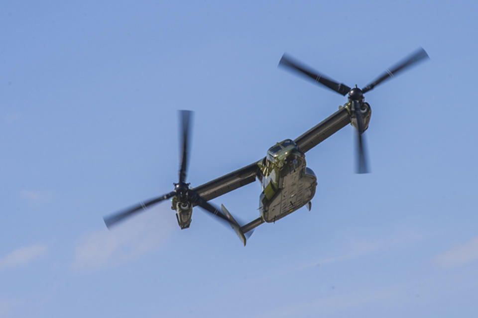 Crash d'un avion militaire américain