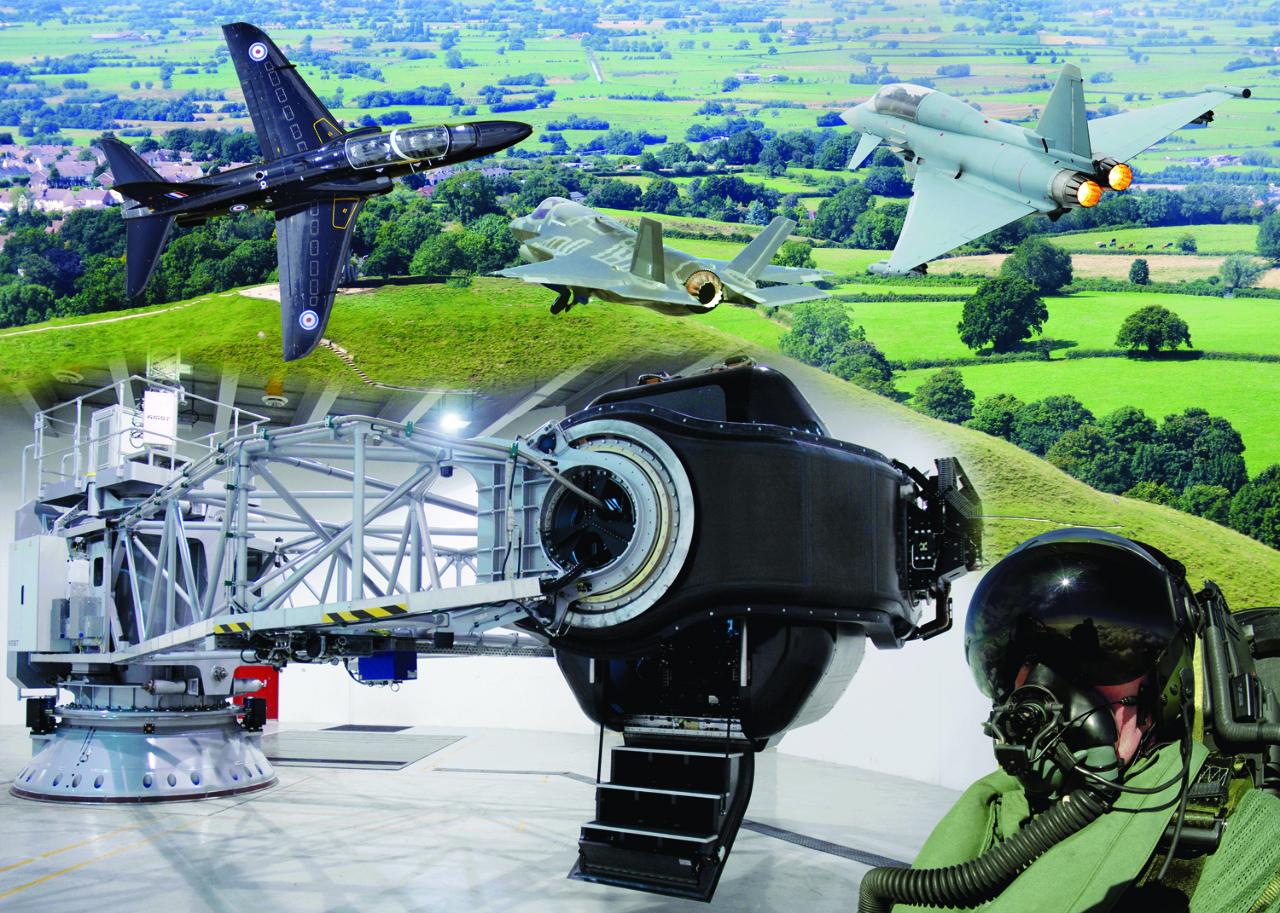 Thales va fournir un centre d'entrainement pour les pilotes de chasse britanniques