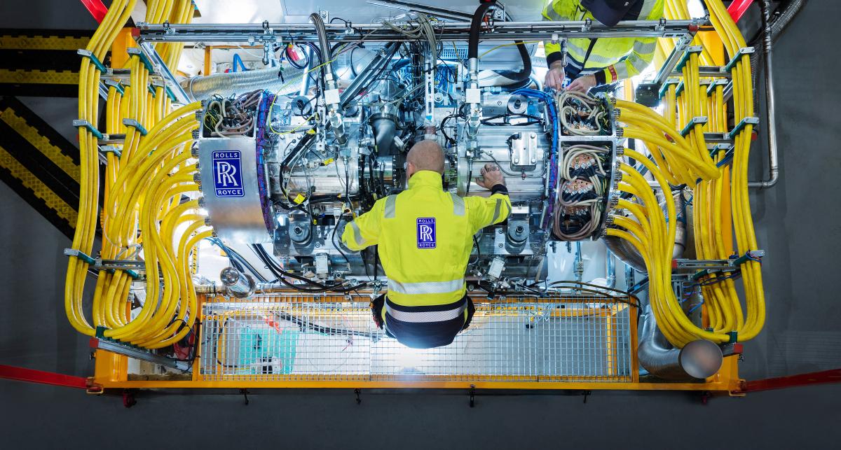 Rolls-Royce va tester son générateur destiné au système PSG1
