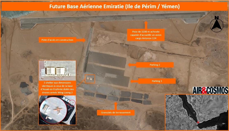 Yémen: La future base des drones armés Emiratis