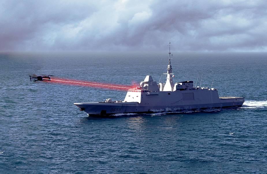 La Marine testera la tourelle laser Helma-P de CILAS