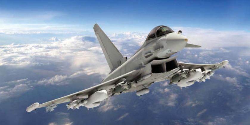 Les Typhoon britanniques bénéficieront d'un radar Aesa